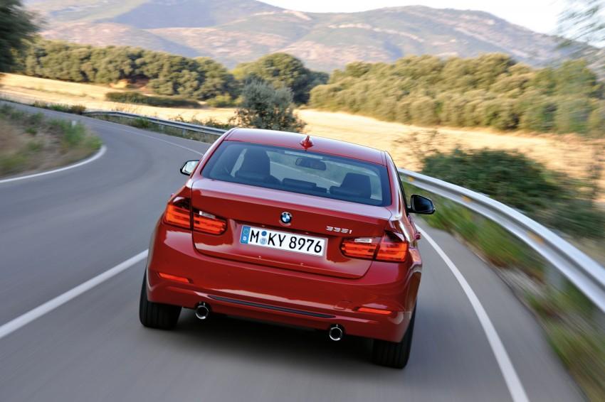 GALLERY: F30 BMW 3-Series Sport Line (Hi-Res) Image #72841