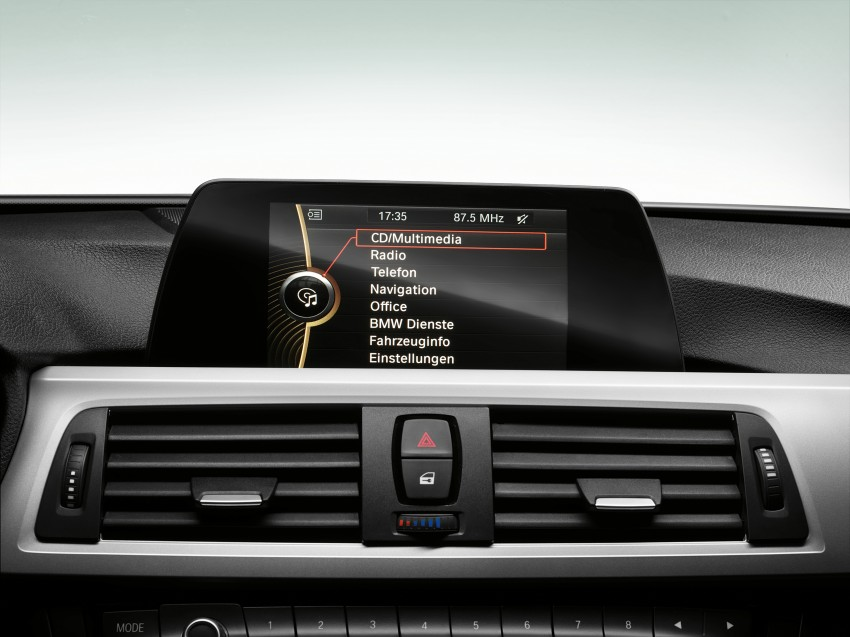 GALLERY: F30 BMW 3-Series Interior (Hi-Res) Image #72935