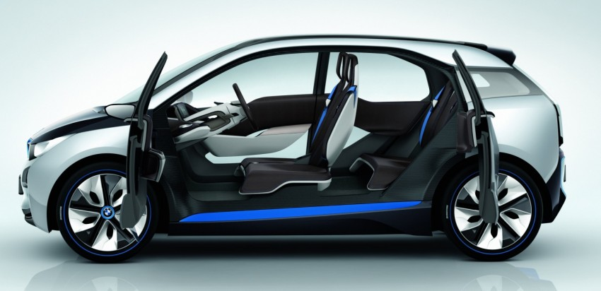 BMW i3 and i8 concepts feature new LifeDrive platform Image #68094