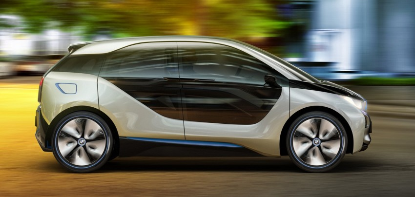BMW i3 and i8 concepts feature new LifeDrive platform Image #68093