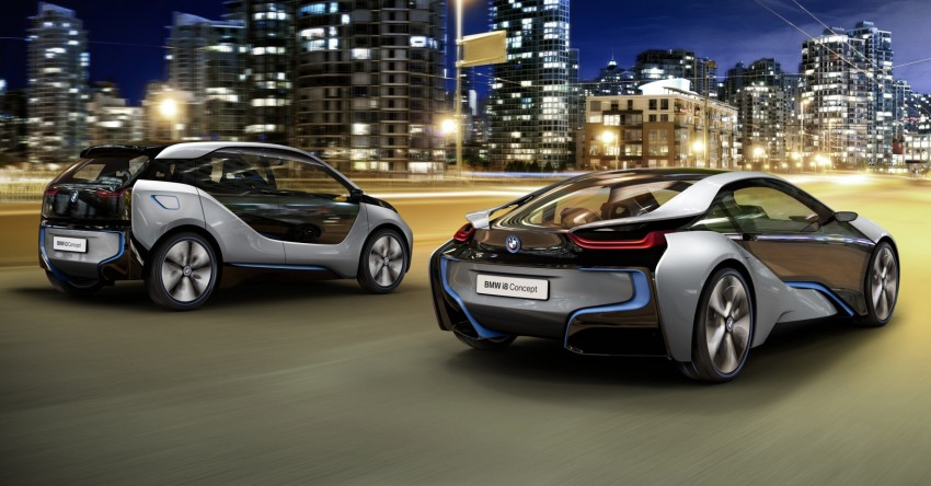 BMW i3 and i8 concepts feature new LifeDrive platform Image #68088