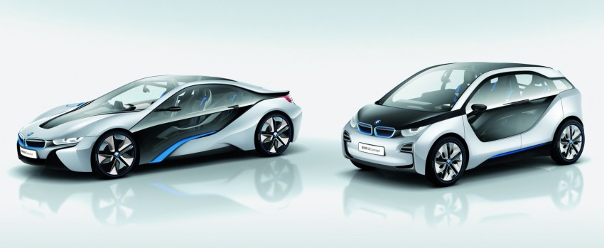 BMW i3 and i8 concepts feature new LifeDrive platform Image #68089
