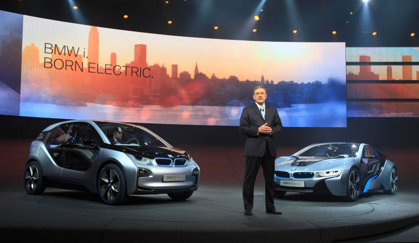 BMW i3 and i8 concepts feature new LifeDrive platform Image #68083