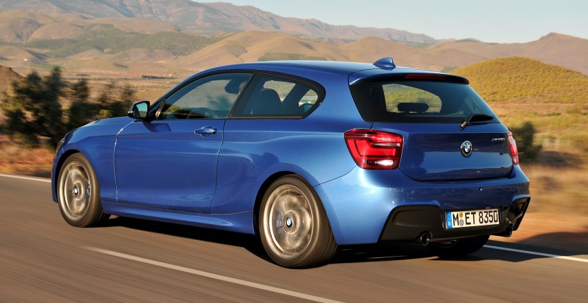 BMW M135i – if you ever need 320hp in a 3-door hatch! Image #106036