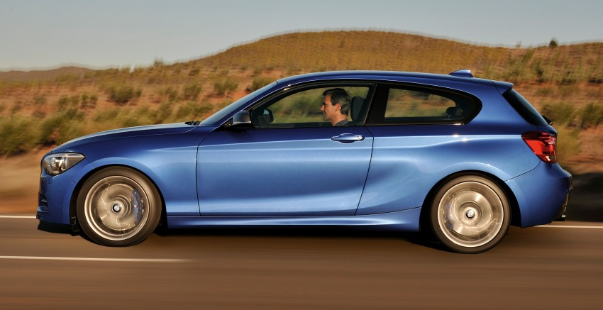 BMW M135i – if you ever need 320hp in a 3-door hatch! Image #106039