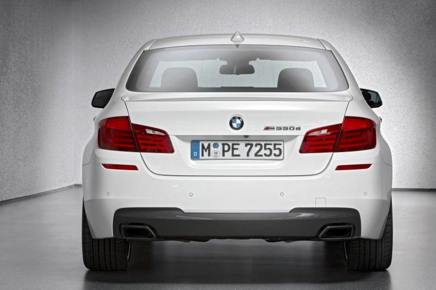 BMW M Performance Automobiles: tri-turbo diesel trio F10 BMW M550xd, BMW X5 M50d and BMW X6 M50d! Image #85071