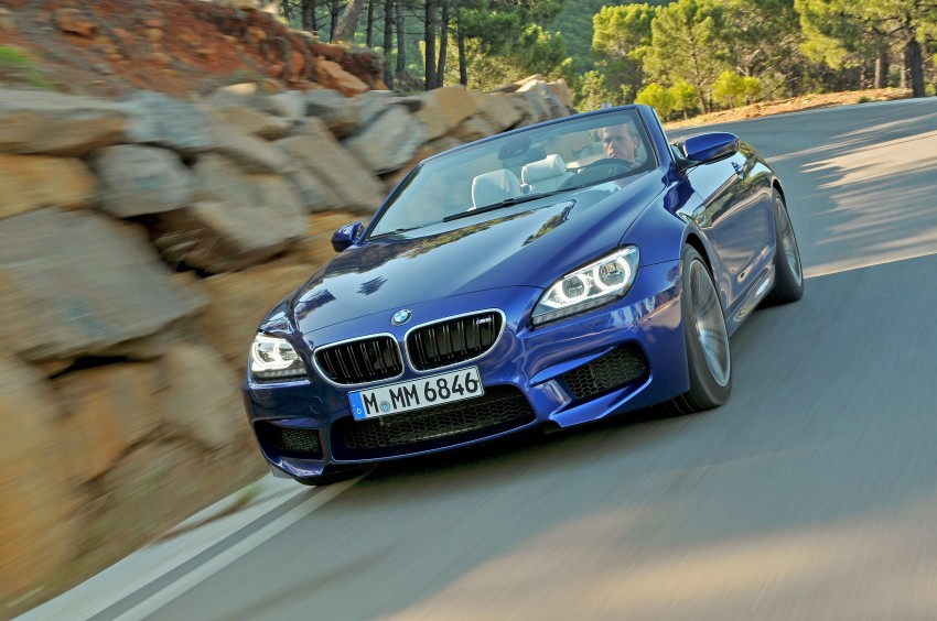 BMW M6 Coupe and Convertible – new photos Image #114048