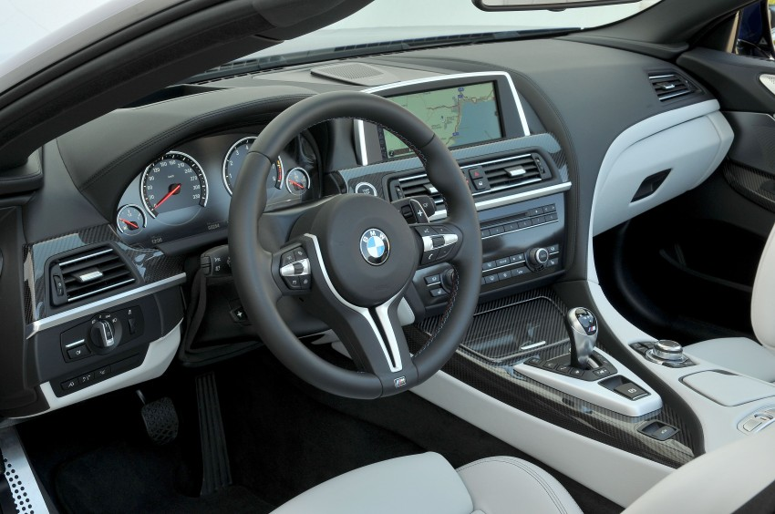 BMW M6 Coupe and Convertible – new photos Image #114065