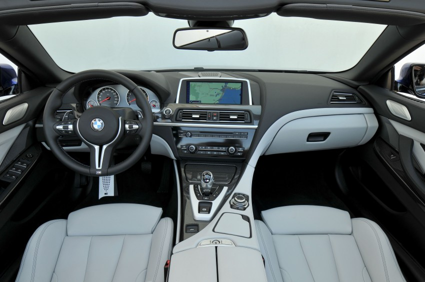 BMW M6 Coupe and Convertible – new photos Image #114068