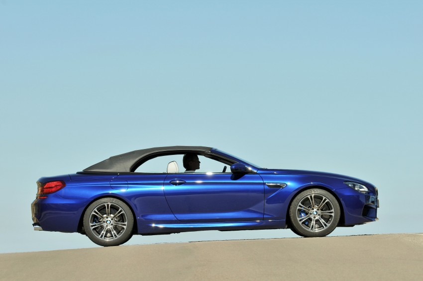 BMW M6 Coupe and Convertible – new photos Image #114073