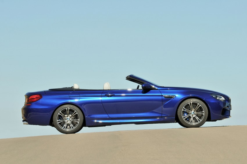 BMW M6 Coupe and Convertible – new photos Image #114075