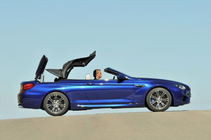 BMW M6 Coupe and Convertible – new photos Image #114076