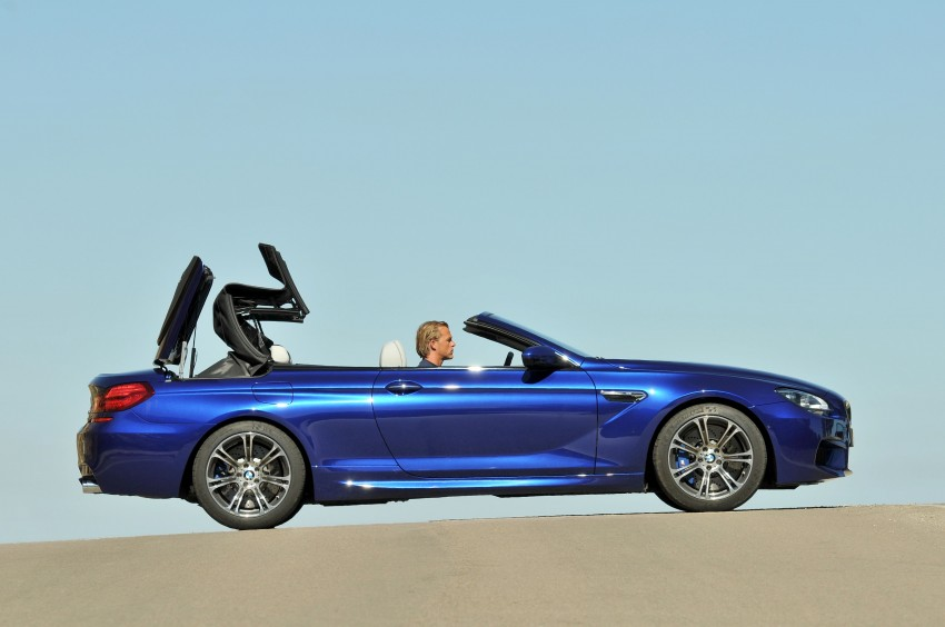 BMW M6 Coupe and Convertible – new photos Image #114077