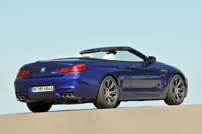 BMW M6 Coupe and Convertible – new photos Image #114078