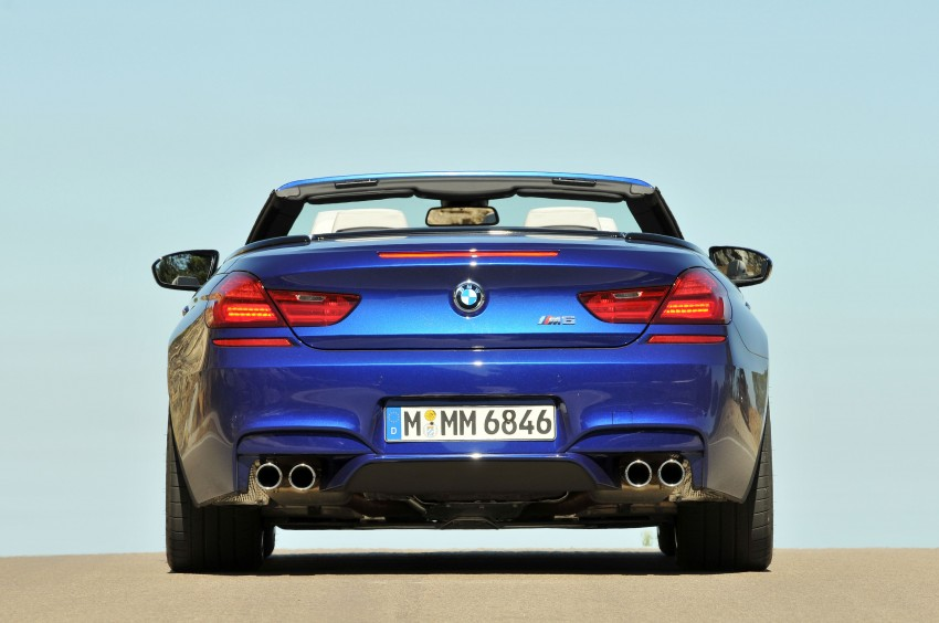BMW M6 Coupe and Convertible – new photos Image #114079