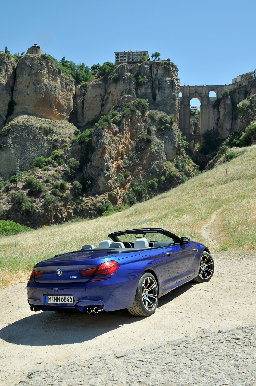 BMW M6 Coupe and Convertible – new photos Image #114081