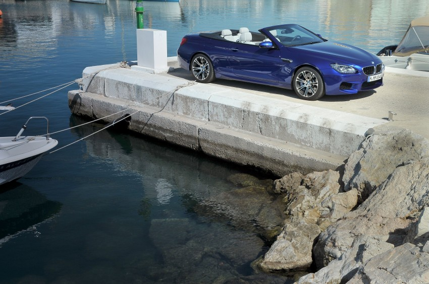 BMW M6 Coupe and Convertible – new photos Image #114082