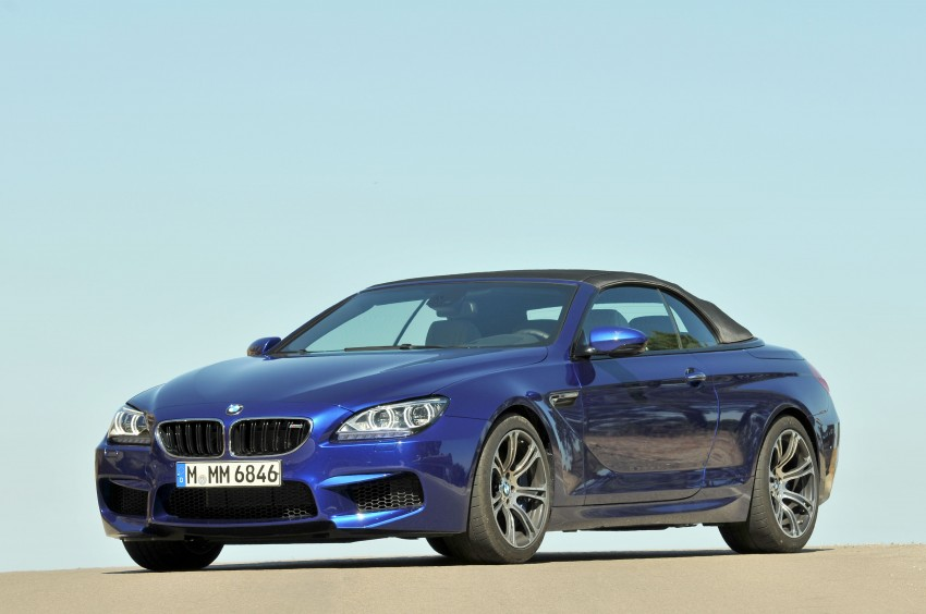 BMW M6 Coupe and Convertible – new photos Image #114083