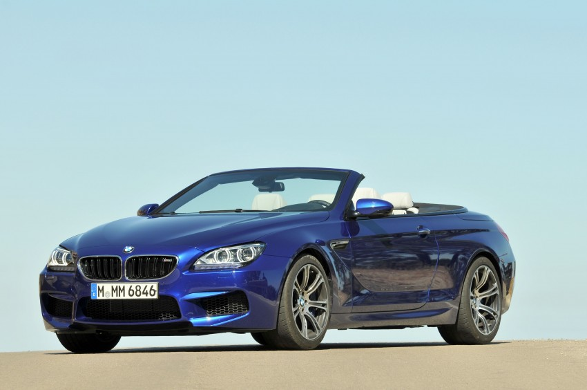 BMW M6 Coupe and Convertible – new photos Image #114084