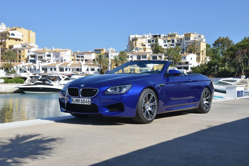 BMW M6 Coupe and Convertible – new photos Image #114085