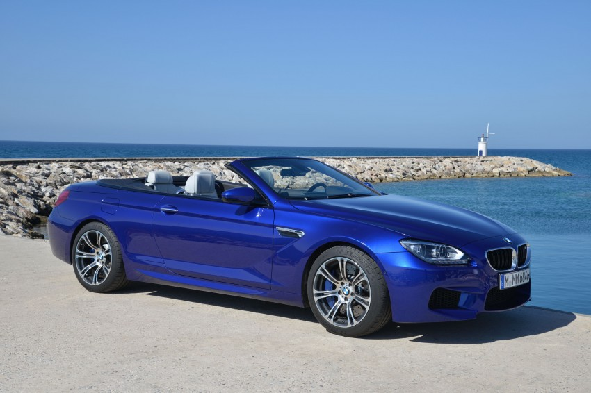 BMW M6 Coupe and Convertible – new photos Image #114086