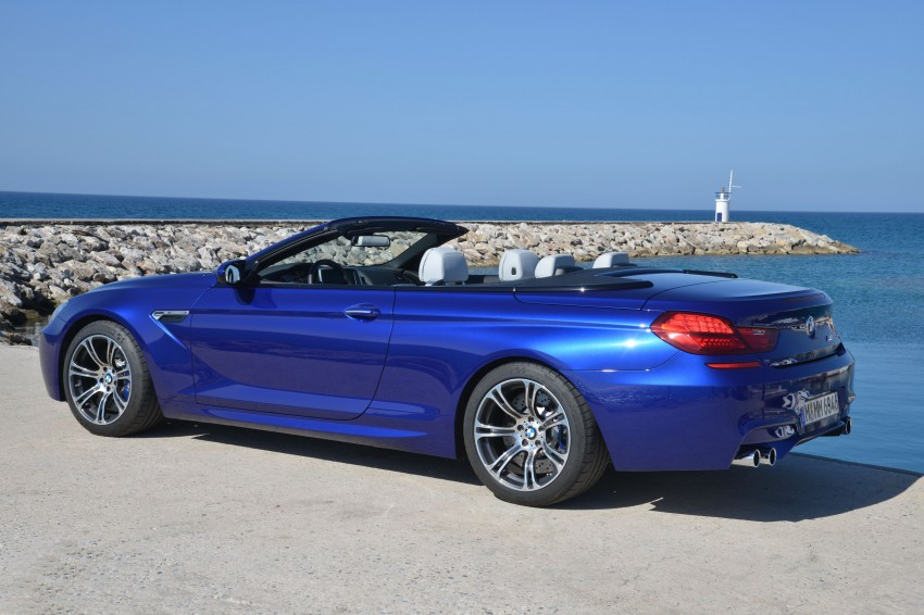BMW M6 Coupe and Convertible – new photos Image #114087