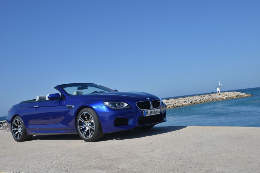 BMW M6 Coupe and Convertible – new photos Image #114088