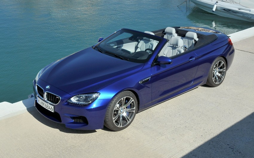 BMW M6 Coupe and Convertible – new photos Image #114089
