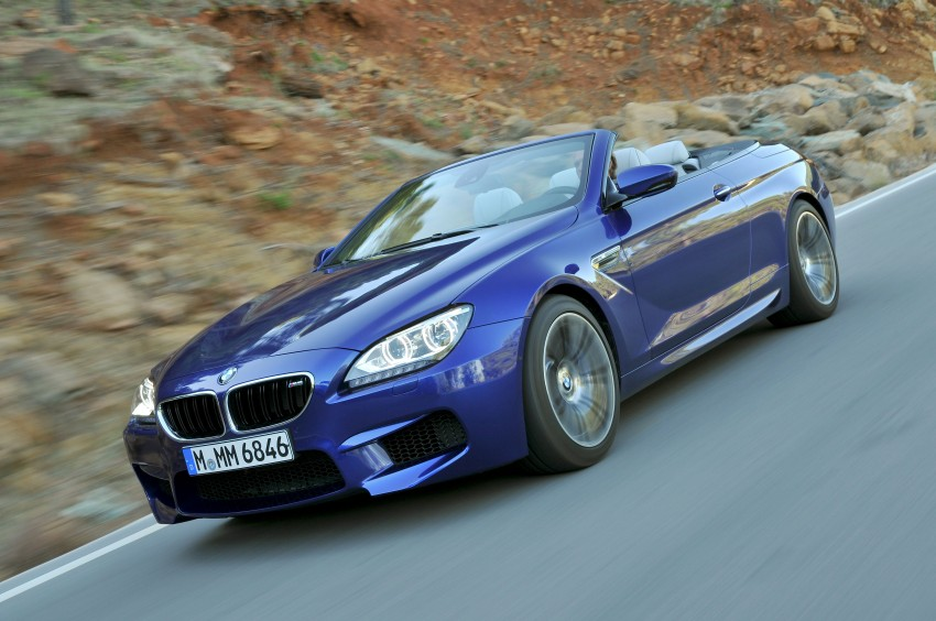 BMW M6 Coupe and Convertible – new photos Image #114093