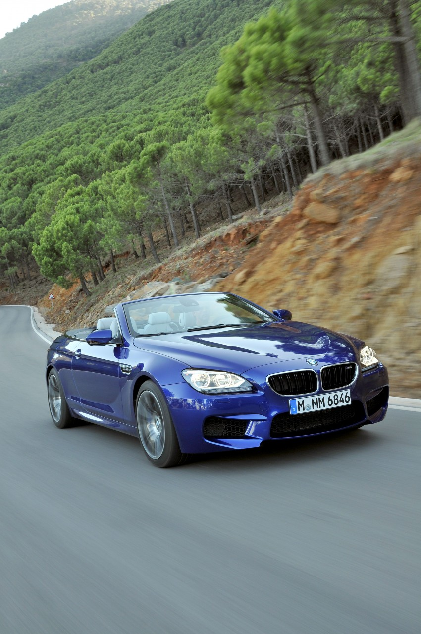 BMW M6 Coupe and Convertible – new photos Image #114094
