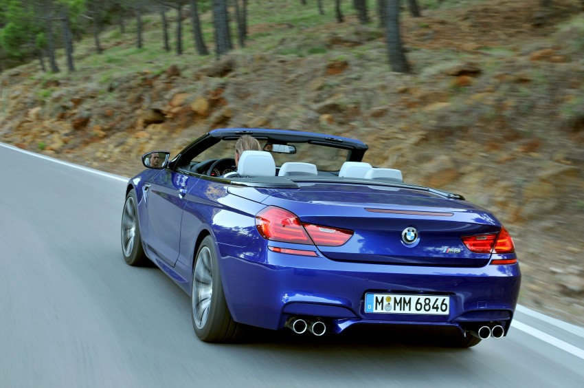 BMW M6 Coupe and Convertible – new photos Image #114095
