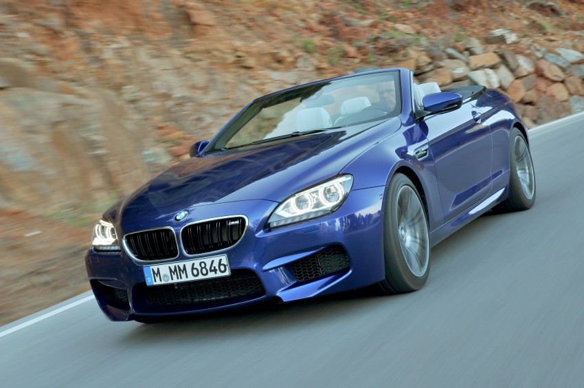 BMW M6 Coupe and Convertible – new photos Image #114096