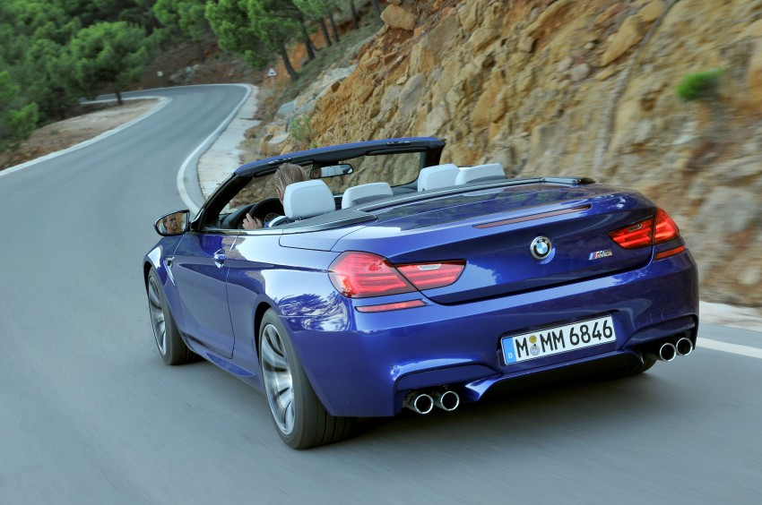 BMW M6 Coupe and Convertible – new photos Image #114097