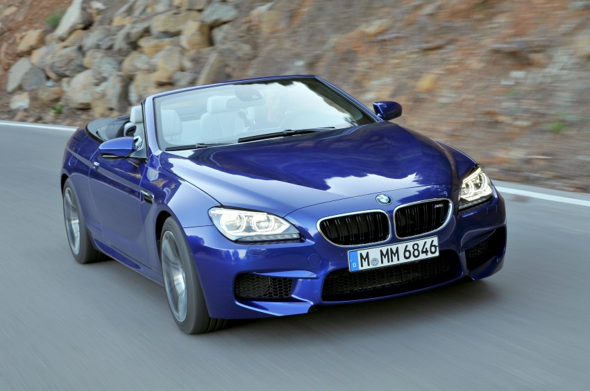 BMW M6 Coupe and Convertible – new photos Image #114098