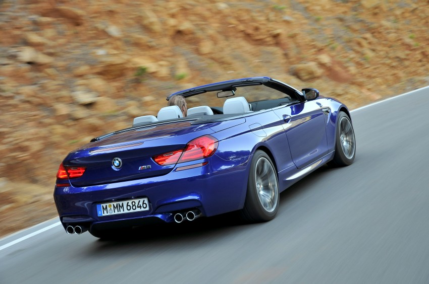 BMW M6 Coupe and Convertible – new photos Image #114100