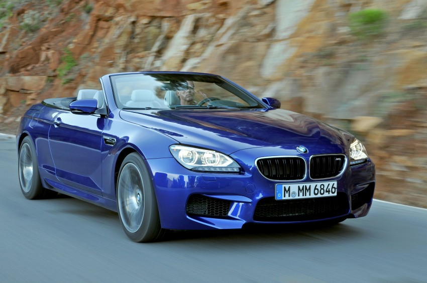 BMW M6 Coupe and Convertible – new photos Image #114101