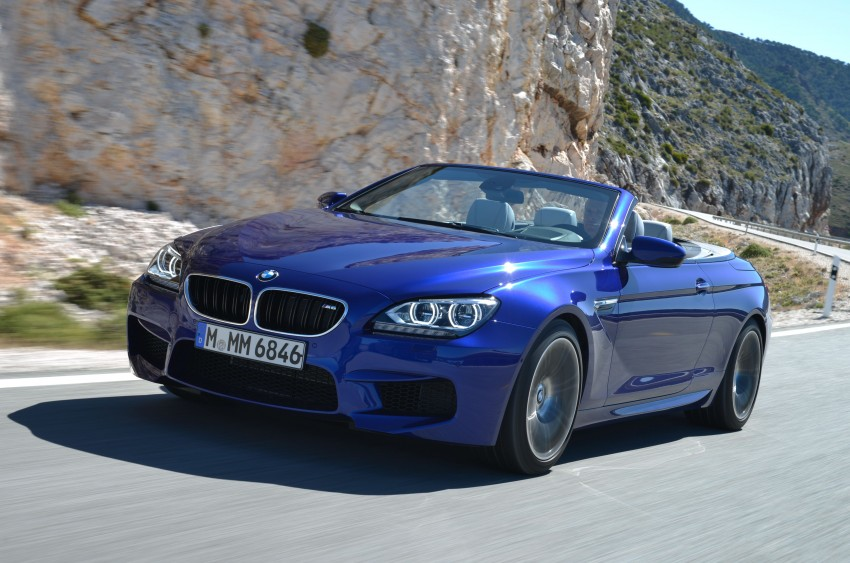 BMW M6 Coupe and Convertible – new photos Image #114102