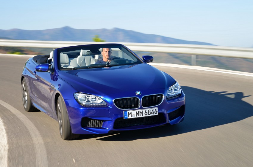 BMW M6 Coupe and Convertible – new photos Image #114103