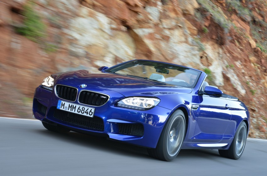 BMW M6 Coupe and Convertible – new photos Image #114105
