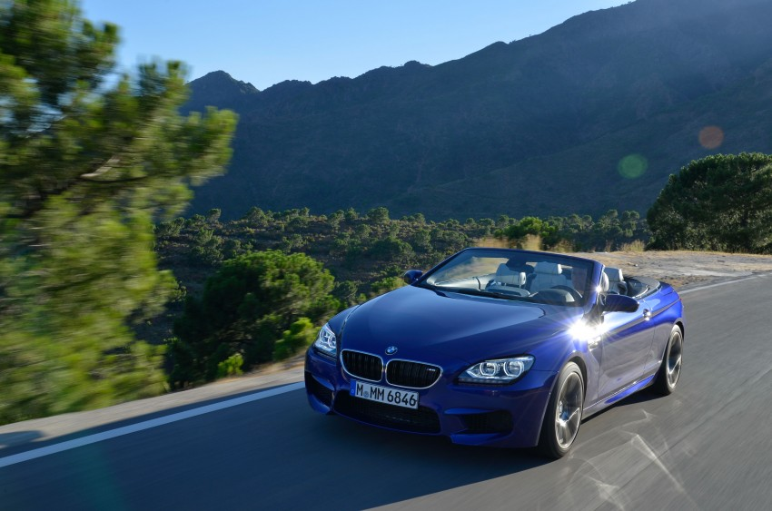 BMW M6 Coupe and Convertible – new photos Image #114106