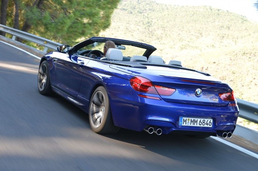 BMW M6 Coupe and Convertible – new photos Image #114107