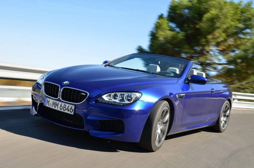 BMW M6 Coupe and Convertible – new photos Image #114108