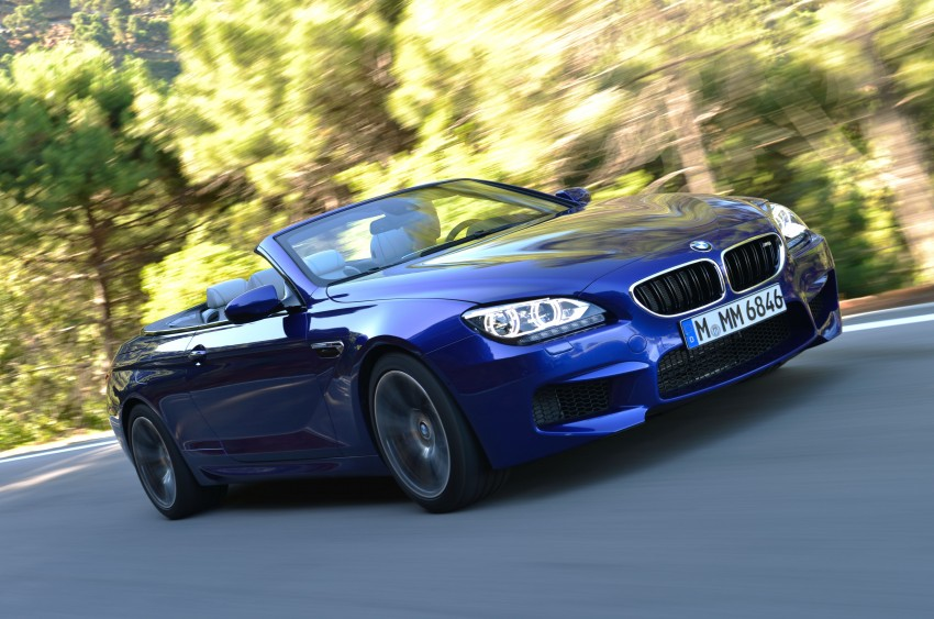 BMW M6 Coupe and Convertible – new photos Image #114110