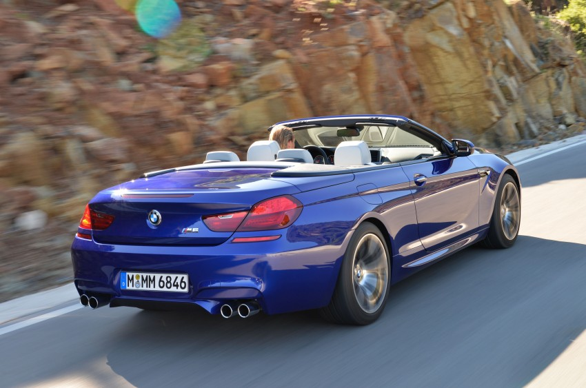 BMW M6 Coupe and Convertible – new photos Image #114111