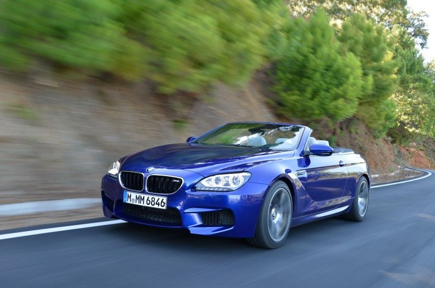 BMW M6 Coupe and Convertible – new photos Image #114112
