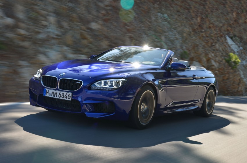 BMW M6 Coupe and Convertible – new photos Image #114113