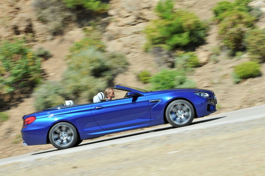 BMW M6 Coupe and Convertible – new photos Image #114114