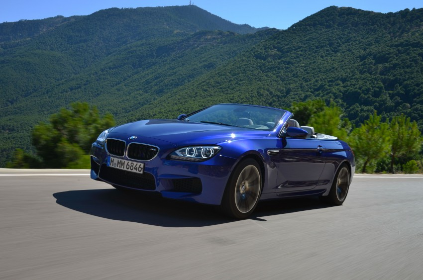 BMW M6 Coupe and Convertible – new photos Image #114115