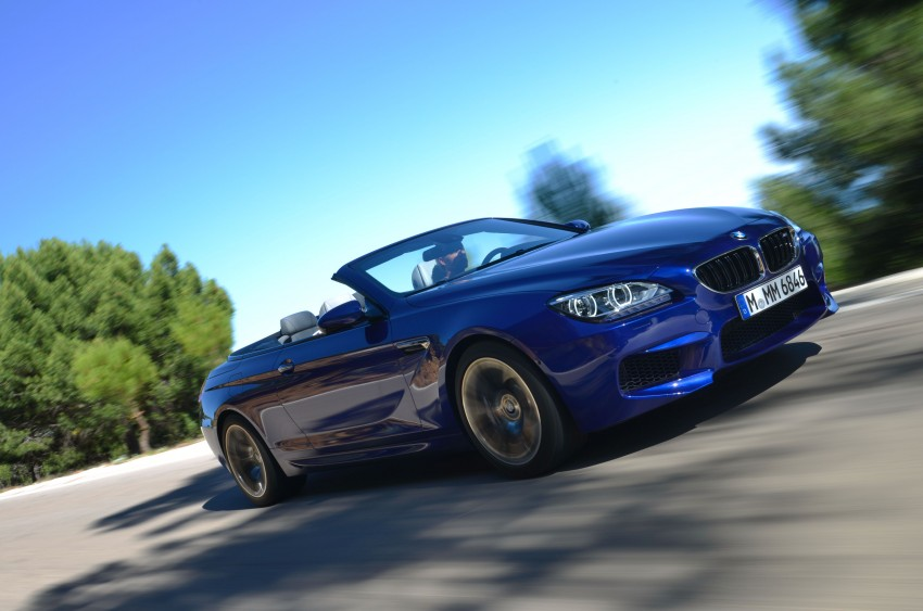 BMW M6 Coupe and Convertible – new photos Image #114116