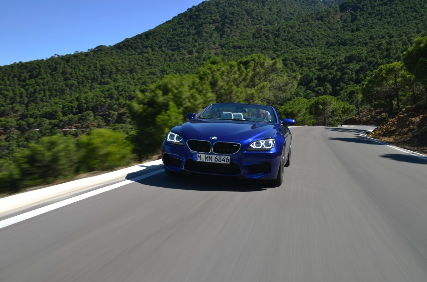 BMW M6 Coupe and Convertible – new photos Image #114118